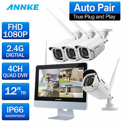 ANNKE HD-CVI DVR 720P Resolution Home Security Recorder HDMI 1MP Video h.264
