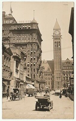 Foresters Temple & City Hall, Toronto, Ontario, Canada, 1910 - RP Postcard