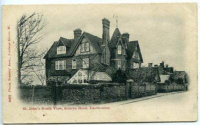EASTBOURNE, St John's, South View, Selwyn Road, Tourists' Association no. 20375