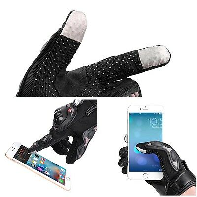 Motorcycle Full Finger Gloves Motorbike Motocross Cycling Racing Screen Touch XL