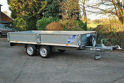Ifor Williams Eurolight 12ft x 5ft Flatbed Trailer, Fully Serviced with warranty