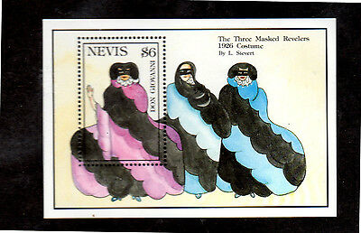 Nevis #739  $6  Don Giovanni  S/s    Mint  Vf Nh