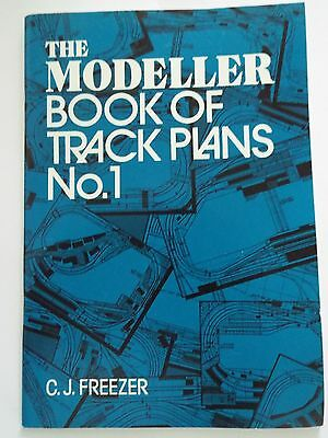 The Modeller Book Of Track Plans Booklet C.J. FREEZER - Good Condition