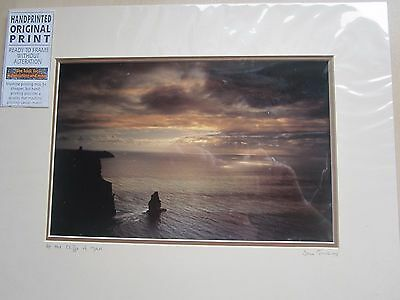 Mounted Print of the Cliffs of Moher by Sean Tomkins