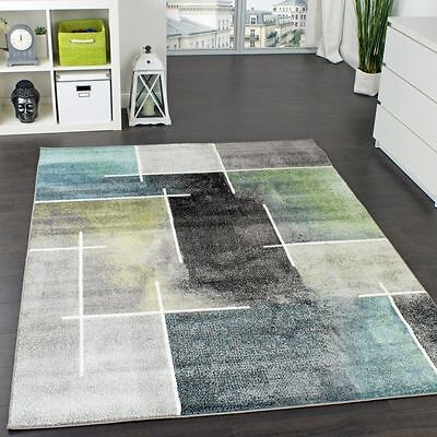 Modern Rug New Carpets Small Extra Large Rugs Living Area Floor Mats Grey Blue