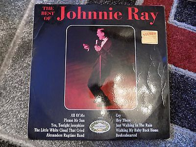 """Johnny Ray - The Best Of Lp ( Hallmark - Hm576 )   """"excellent Condition"""""""