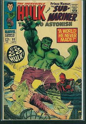 Tales To Astonish #95 VG-