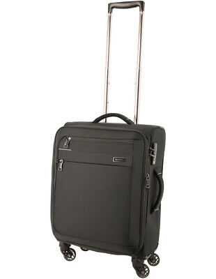 NEW Samsonite Lumiere soft side spinnercase small 55cm black 2.5kg