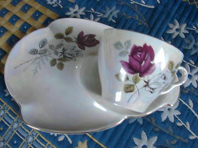 Royal Winton Sandwich Plate With Cup - Lustre