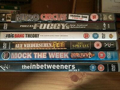 Dvd bundle comedy + fun