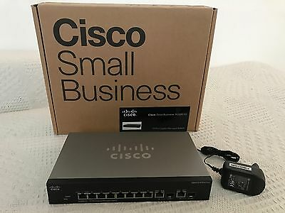 Cisco Small Business SG300-10 10-Port Gigabit Managed Switch
