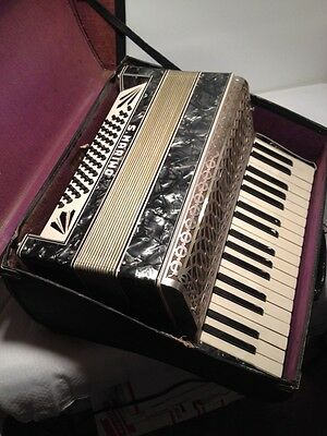 S. MARINO ACCORDION MADE IN ITALY With Case