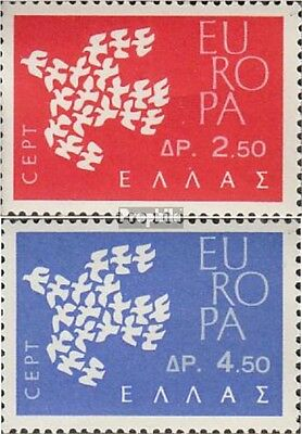 Greece 775-776 (complete issue) unmounted mint / never hinged 1961 Europe