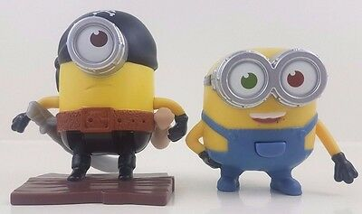 McDonalds Happy Meal Toy - Minions - Chatting Bob & Flipping Pirate - 2015