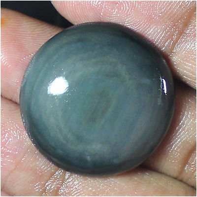 38.00 Cts 100% Natural Rainbow Obsidian Round Cabochon Loose Gemstone Stone_Artt