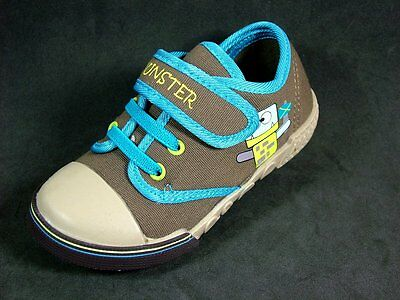 13 X Cornwall Canvas Trainers Shoes Sizes 6 - 10 Uk Kids Children Boys