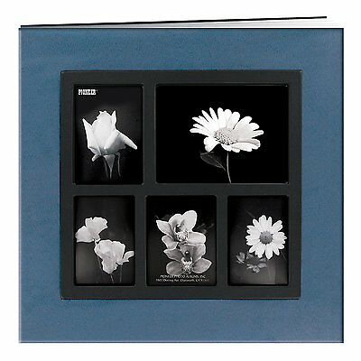 "Pioneer Photo Albums Post Bound Faux Suede Scrapbook, 12 x 12"", Blue"