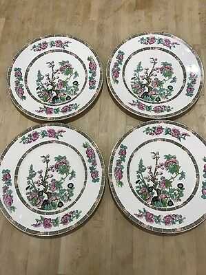 "Maddock's China - Indian Tree Plates - Diameter = 10"". 4 In This Lot."