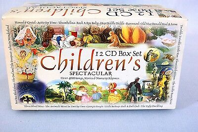 New - Children's Spectacular 12 CD Box Set - Over 400 Songs, Stories & Rhymes