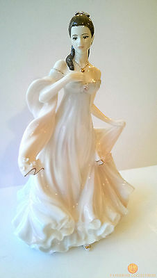 Royal Worcester WITH ALL MY HEART Limited Edition Figurine CW814 CW 814