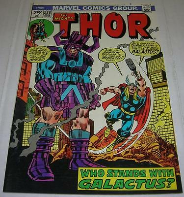 THOR #226 (Marvel Comics 1974) 2nd appearance of FIRELORD (VF-) GALACTUS app