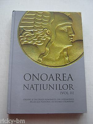 Romania Military New Complete Museum Book / Catalog Orders & Medals 1859 - 1947