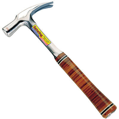 Estwing 24oz Straight Claw English Pattern Hammer with Leather Grip E24S
