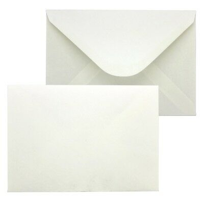 C6 Envelopes PREMIUM 90gsm Neutral White Gummed Seal Plain HIGH QUALITY Post