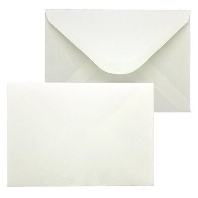 White C6 Envelopes PREMIUM 90gsm Gummed Seal Plain HIGH QUALITY Post Postal