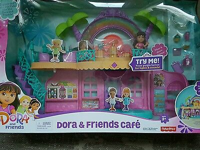 Fisher-Price Dora and Friends Cafe Playset new in box