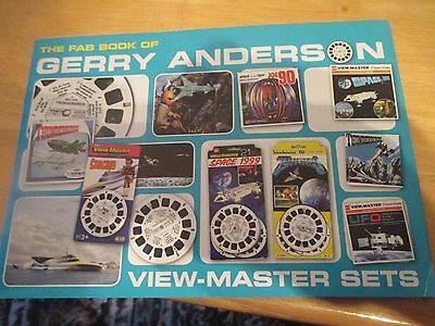 Vtg Gerry Anderson Thunderbirds Viewmaster Sets Book