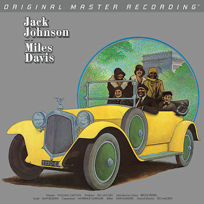 Miles Davis - A Tribute to Jack Johnson Vinyl LP MFSL1-440