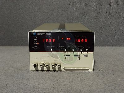 HP Hewlett Packard Agilent 4261A Digital LCR Meter