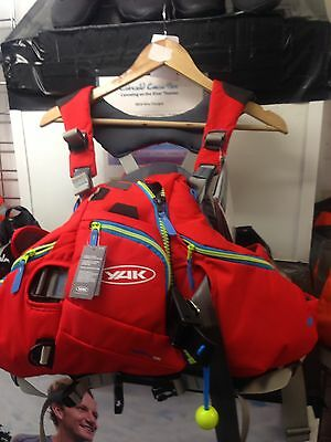 Yak Hellertau PFD Buoyancy Aid - with Tags - RED - Size Med Large