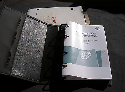 Genuine New Vw Hand Book Pack Wallet Golf Plus Service Schedule
