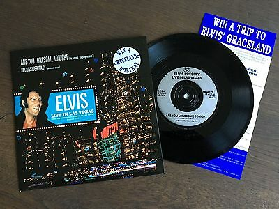 """ELVIS PRESLEY Are You Lonesome Tonight (Famous Laughing Version) 7"""" NM PB 49177"""