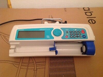 Graseby Omnifuse Syringe Infusion Pump Driver Neonatal Excellent Condition
