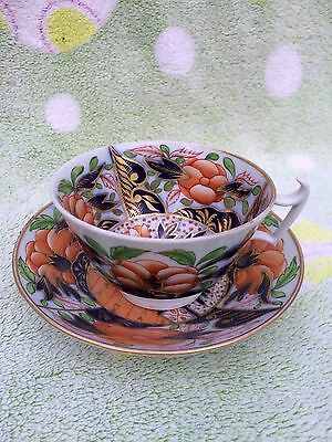Early 19th Century porcelain teacup and saucer Imari pattern possible Spode