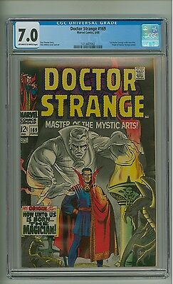 Doctor Strange 169 (CGC 7.0) OW/W pgs; 1st appearance in his own title (c#12795)