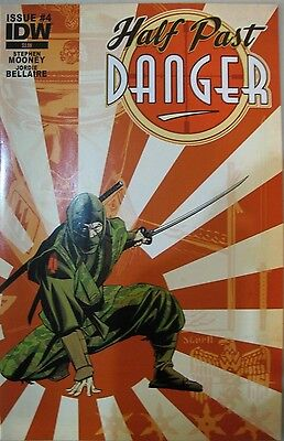 Half Past Danger #4 VF-NM ms