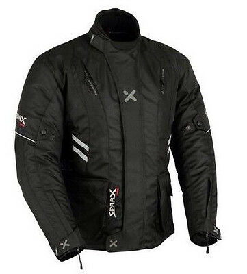 SPARX racing Waterproof Motorcycle Motorbike Moped Textile Touring Jacket -