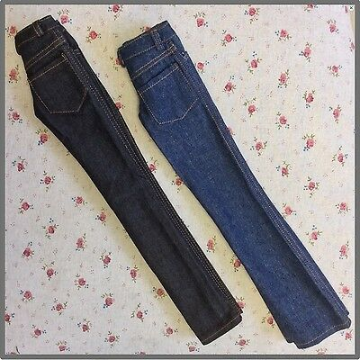 2pairs Unisex BJD jeans BJD outfit SD 13 jeans doll outfit Lotus doll outfit