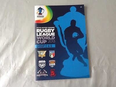 2013 Rugby League World Cup programme