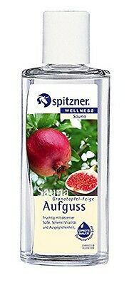 Pomegranate & Fig Sauna Infusion (190 ml) from Spitzner