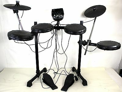Ion Audio Pro Sessions Drums IED12 Electric Drum Set Foldable Stand Heavy Duty