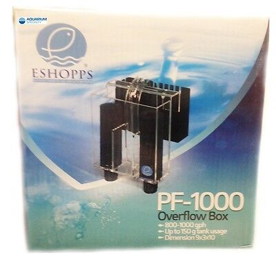 Eshopps PF-1000 Overflow Box Rated to 150g