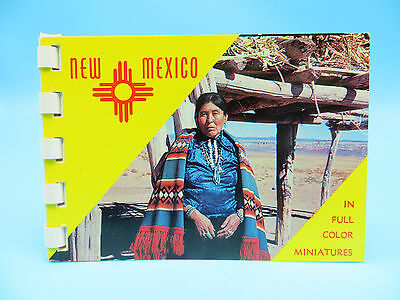 Vintage 1950's New Mexico Souvenir Booklet of 10 Photo Cards With Envelope