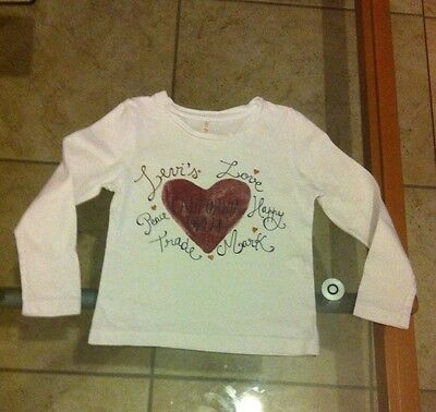 Tee  Shirt Manches Longues Levis 3 Ans