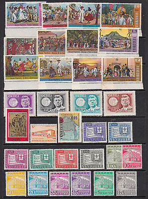 Venezuela Mint Stamp Selection with Sets  (Ve28123)