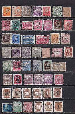 Hungary Wide Ranging Definitive Stamp Selection 2 SCANS (Hu28122)
